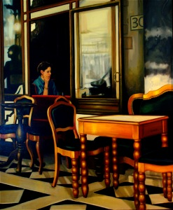 Kennington_Always Alone. 50 x 42. 1997 copy